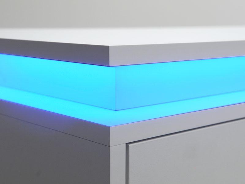 Led Verlichting Kast : Tv meubel met led verlichting mijn kasten op maat