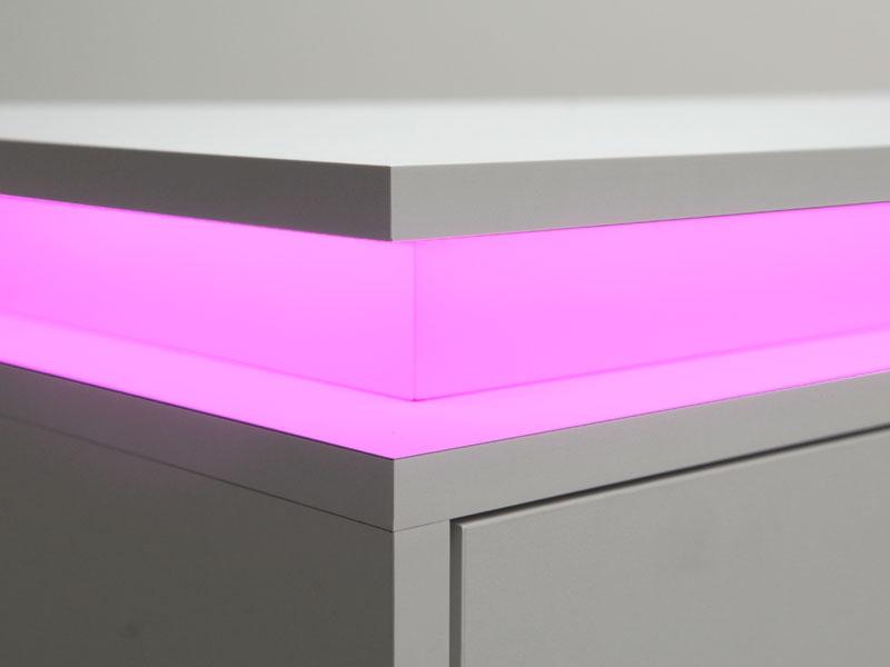 Badkamerkast Met Lamp : Tv meubel met led verlichting mijn kasten op maat